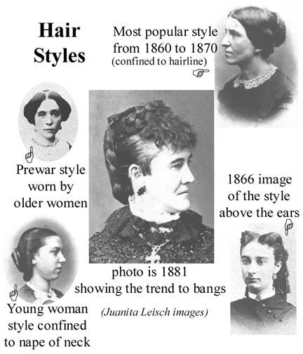hair styles of the wild west